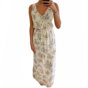 Lucky Brand Womens Floral Maxi Dress - small